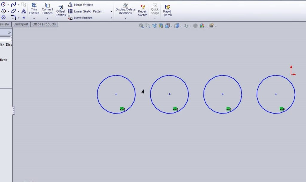Solidworks linear sketch pattern tutorials circle linear sketch patterns final images