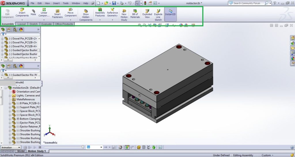 Solidworks-user-interface-assembly-screenshots-2-solidworks-tutorials-for-begineers-com