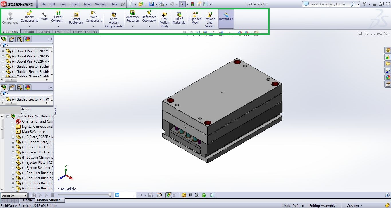 Solidworks user interface basics simple and easy to use solidworks user interface assembly screenshots 2 solidworks tutorials baditri Image collections