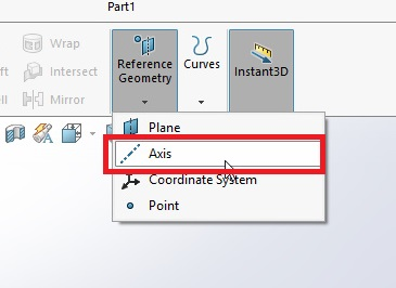 axis menu select from the feature command manager solidworks how to make spur gear 3d model in solidworks