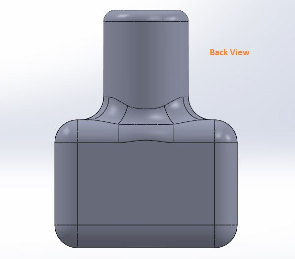 how to use solidworks view orienations -back view tool screenshots-8