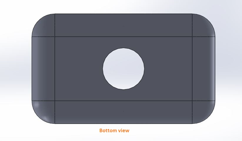 how to use solidworks view orienations -bottom view tool screenshots-8