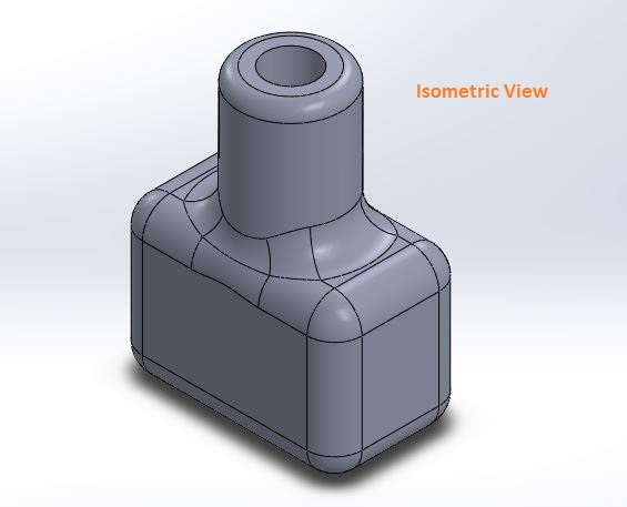 how to use solidworks view orienations - isometric view tool screenshots-3