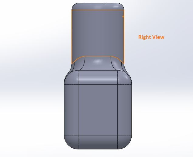 how to use solidworks view orienations -right view tool screenshots-8
