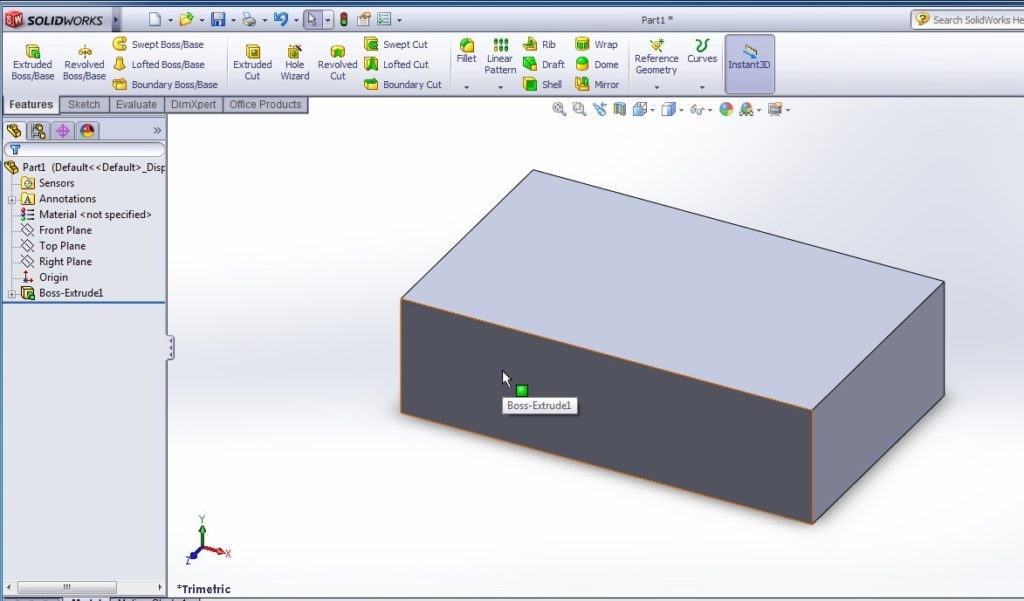 How to Use SolidWorks Chamfer Tool Features in SolidWorks CAD