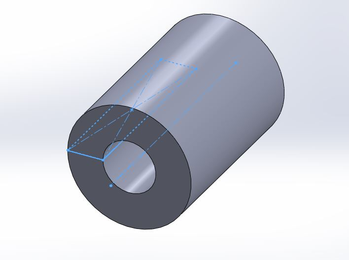 solidworks 2012 revolved boss or base feature with property manager 3d hollow cylinder step-4 image-3