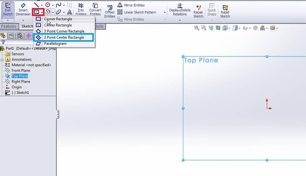 solidworks-3-point-center-rectangle-selection-step-2
