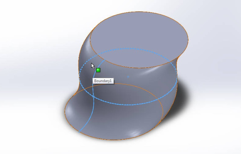solidworks boundary boss or base final model image