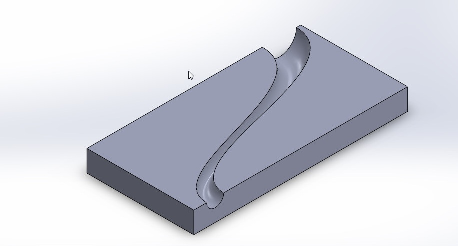 solidworks boundary cut tutorial_boundary cut final image