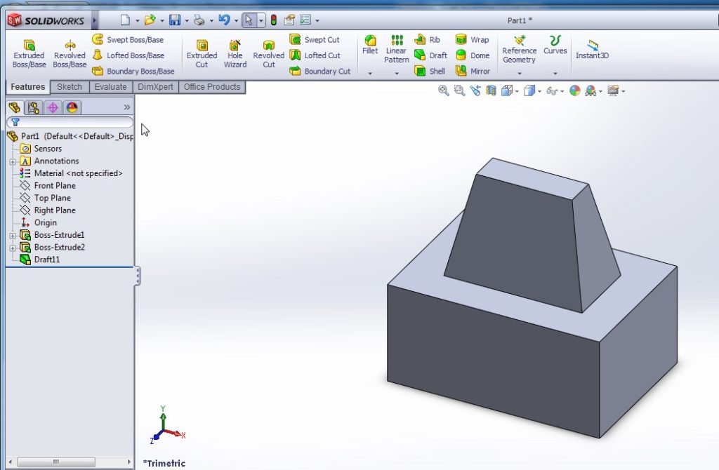 solidworks draft tutorial inner faces propagation draft final image