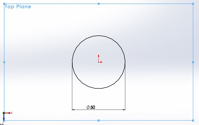 solidworks exercises-how to create 3d cylider step for drwaing circle sketch