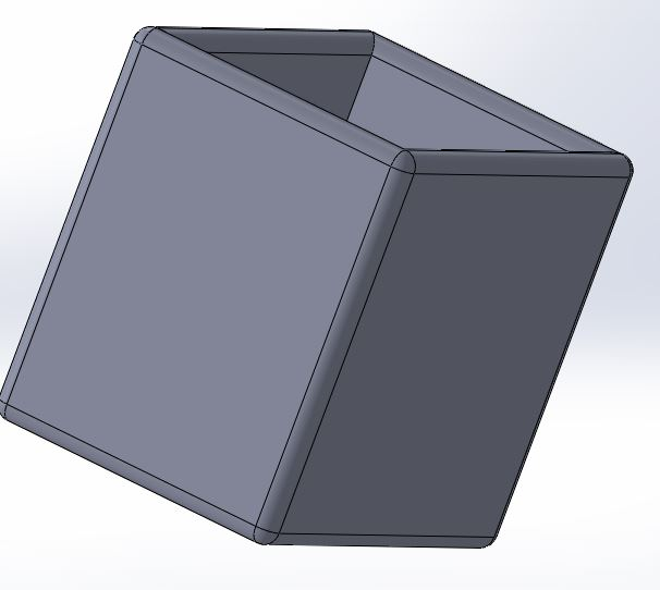 solidworks fillet application of fillet design part example final