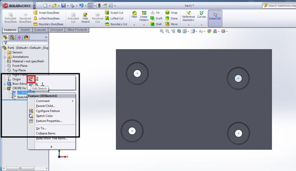 How to Use SolidWorks Hole Wizard Tool for Creating Designs