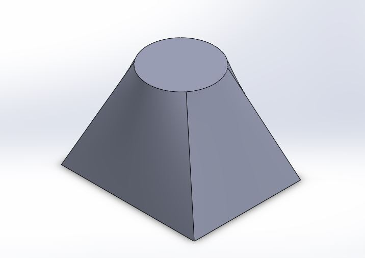 solidworks loft boss base tutorials finaliased lofted part