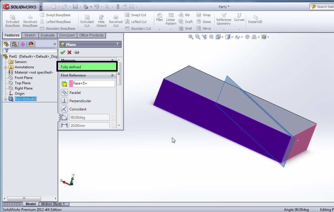 how to use dwformfeature solidworks