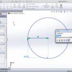 solidworks smart dimesion use step 3 circle dimension radius application 150x150 - SolidWorks Tutorial 8: Smart Dimension Sketch Tool