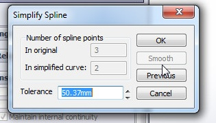 solidworks spline sketching tutorial_how to simplify spline curve using simplify spline tool after smoothing