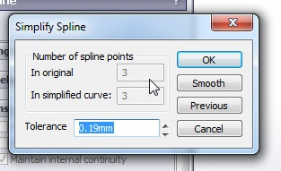 solidworks spline sketching tutorial_how to simplify spline curve using simplify spline tool before application