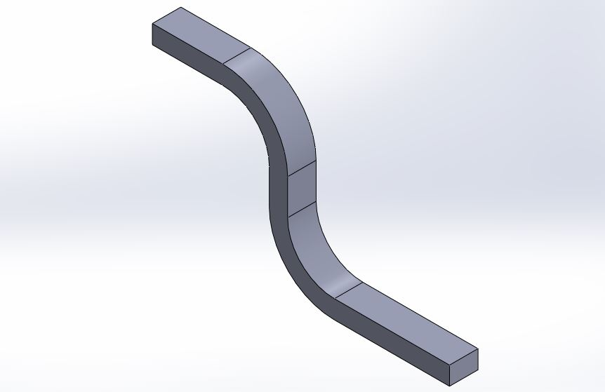 solidworks swept boss or base feature use - solid works tutorials -shout me tutorials dot come final image