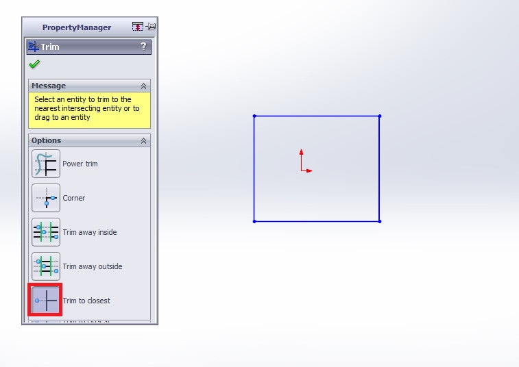 solidworks tutorials final rectangle image trim entities