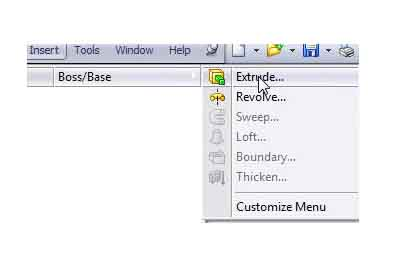 solidworks-user-interface-Menubar-solidworks-menu-insert-menu-boss-or-base-screenshot-7-part-1-edit